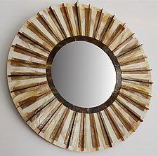 Earth by Gerald Davidson (Art Glass Mirror)