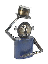 Sir Blue by Ben Gatski and Kate Gatski (Metal Sculpture)