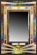 Rays by Thomas Meyers (Art Glass Mirror)