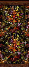 Floral Tapestry Specimen Panel by Lisa A. Frank (Color Photograph)