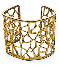 Triangle Cuff by Natalie Frigo (Brass Bracelet)