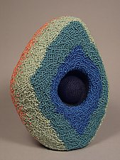 Nestled Solitude by Joh Ricci (Fiber Sculpture)