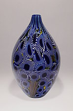 Art Glass Vessel by James Friedberg