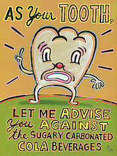 As Your Tooth by Hal Mayforth (Giclee Print)