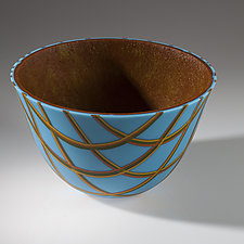 Capri Vessel by Varda Avnisan (Art Glass Vessel)
