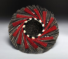 Spiral Nest Basket by Christine Adcock and Michael Adcock (Woven Basket)