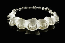 Calcified Collar by Desiree DeLong (Silver Necklace)