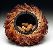 Sunrise Basket by Christine Adcock and Michael Adcock (Woven Basket)