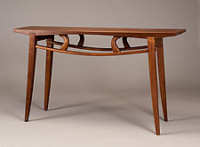 Wood Console Table by Alan Powell