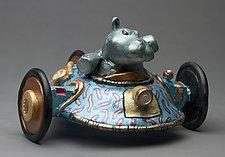 HipMobile by Byron Williamson (Ceramic Sculpture)