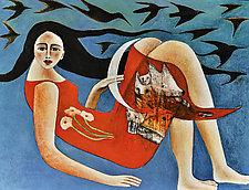 Maria de las Golondrinas by Armando  Adrian-Lopez (Giclee Print)