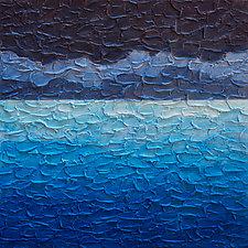 Sea and Sky No. 2 by Steve Bogdanoff (Acrylic Painting)