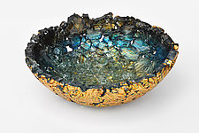 Sutter Creek by Mira Woodworth (Art Glass Bowl)
