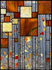 Stillness by Josephine A. Geiger (Art Glass Wall Art)
