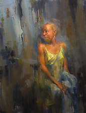 Washing III by Cathy Locke (Oil Painting)