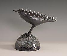Techno by Patty Carmody Smith (Mixed-Media Sculpture)
