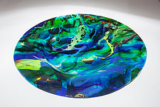 Amazon Bowl by Varda Avnisan (Art Glass Bowl)