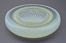 Art Glass Bowl by Marc Carmen