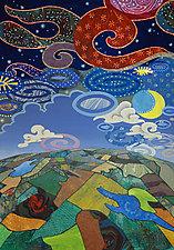 Earth and Sky by Wynn Yarrow (Paper Wall Art)