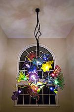 Joyeux Chandelier by Joel and Candace  Bless (Art Glass Chandelier)
