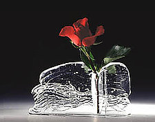 Bud Vase by Joel and Candace  Bless (Art Glass Vase)