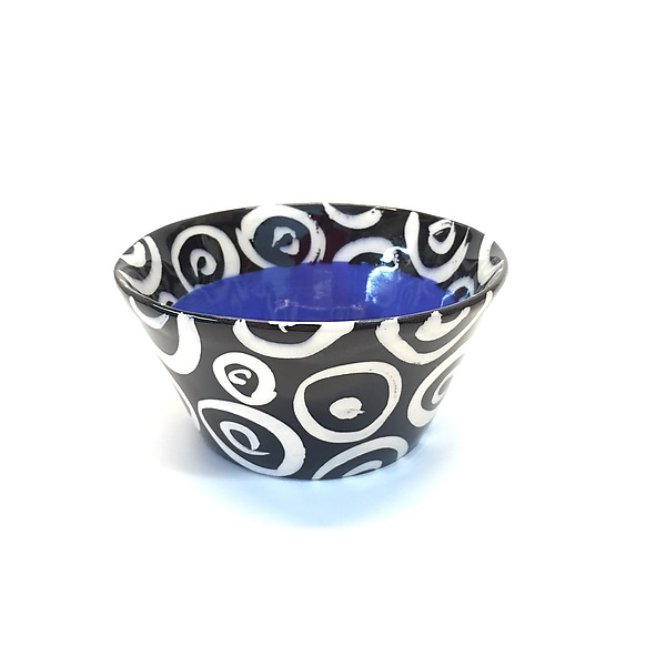 Small Flared Bowl in Blue