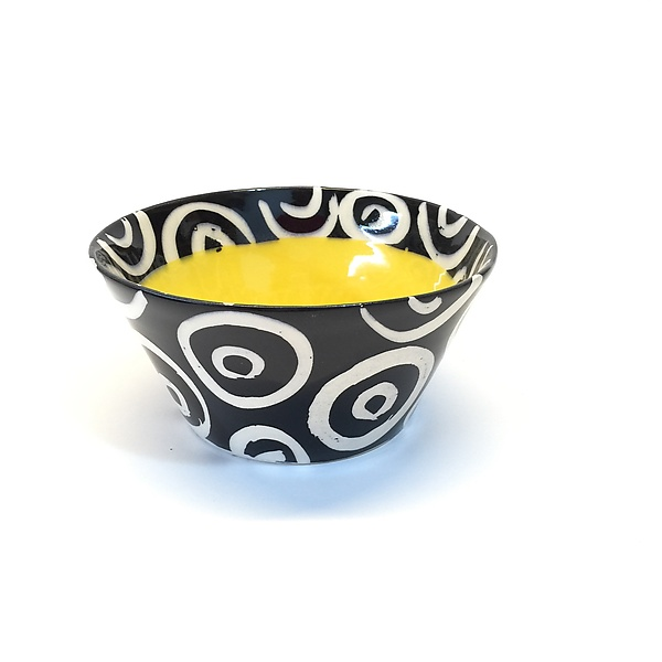Small Flared Bowl in Yellow