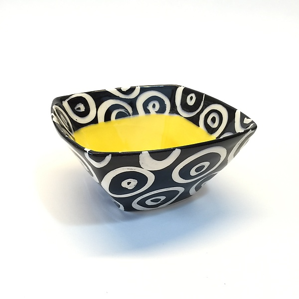 Small Square Bowl in Yellow