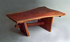 Northcreek Coffee Table by Richard Laufer (Wood Coffee Table)