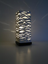 Twigs Mini Table Luminaire by Muhammad Moussa (Ceramic Table Lamp)