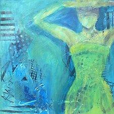 Acrylic Painting by Leslie Saeta