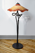 Bronze Transitions Understudy by Joel and Candace  Bless (Art Glass Floor Lamp)