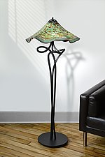 Rubies Understudy by Joel and Candace  Bless (Art Glass Floor Lamp)