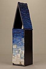 The Sky's Loneliness by Lynn Cornelius (Steel & Fiber Sculpture)