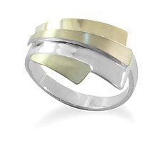Horizon Adjustable Ring by Debra Adelson (Gold & Silver Ring)
