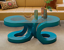2U Coffee Table by John Wilbar (Wood Coffee Table)