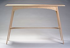 Petite Heron by Eben Blaney (Wood Console Table)