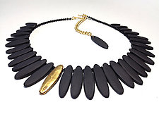 Ellipse Necklace by Syra Gomez (Ceramic Necklace)