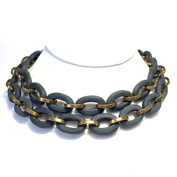 Oval Links Necklace