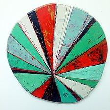 Layered Disc #9 by Barbara Gilhooly (Wood Wall Art)