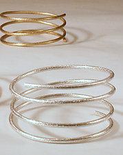 Coil Bracelet by Emanuela Aureli (Metal Bracelet)