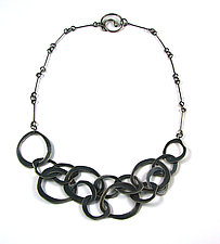 Jumble Necklace by Lisa Crowder (Silver Necklace)