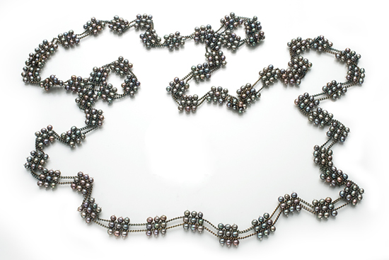 Long Squares Necklace