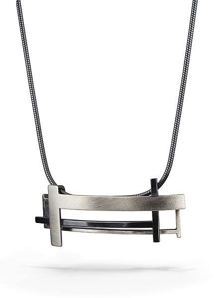 T Square Necklace