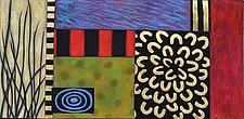 Garden Bloom I by Emilia Van Nest Markovich (Pastel Painting)
