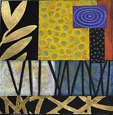 Garden Grass I by Emilia Van Nest Markovich (Pastel Painting)