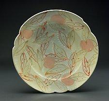 Platter with Orange by Lauren Kearns (Ceramic Platter)