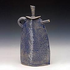 Caroline Teapot by Mary Obodzinski (Ceramic Teapot)