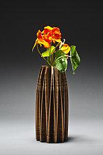 Orchid Vase by Seth Rolland (Wood Vase)