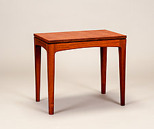End Table by Alan Powell (Wood Side Table)